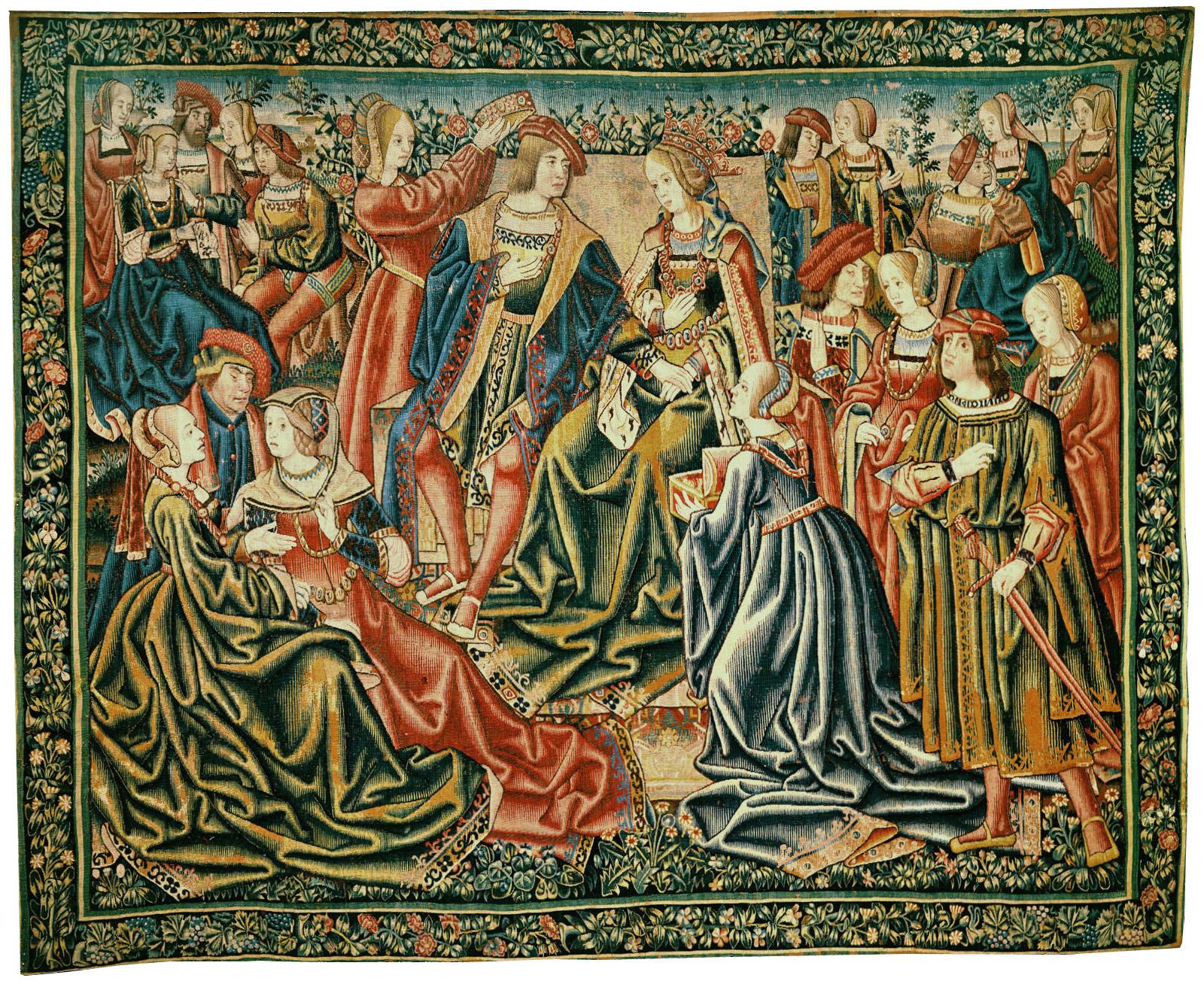 Gothic Coronation Tapestry