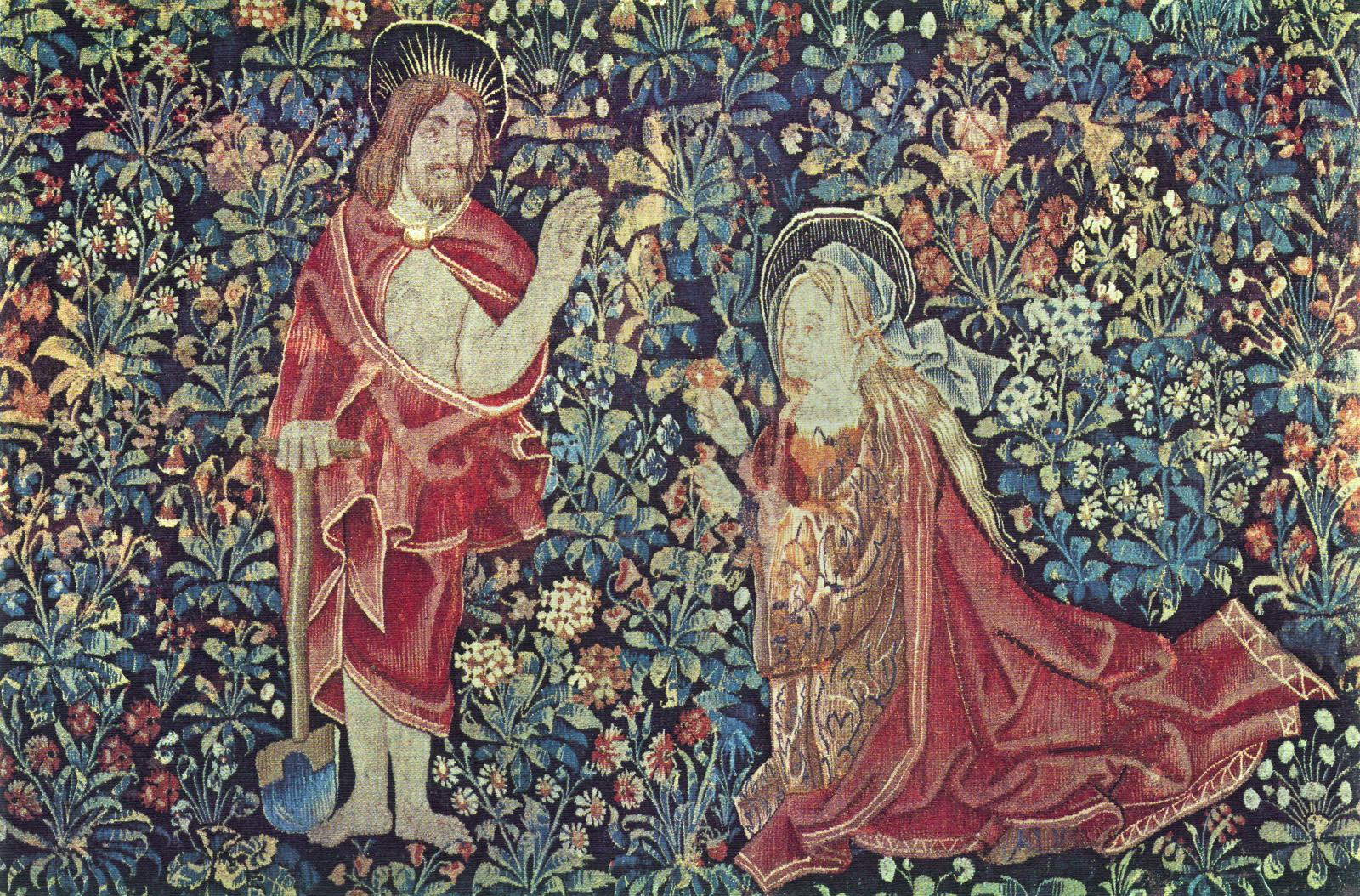 Millefleurs Tapestry Panel